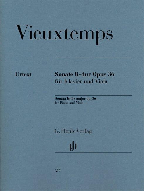 Sonate pour alto en Si bémol majeur opus 36 - laflutedepan.com