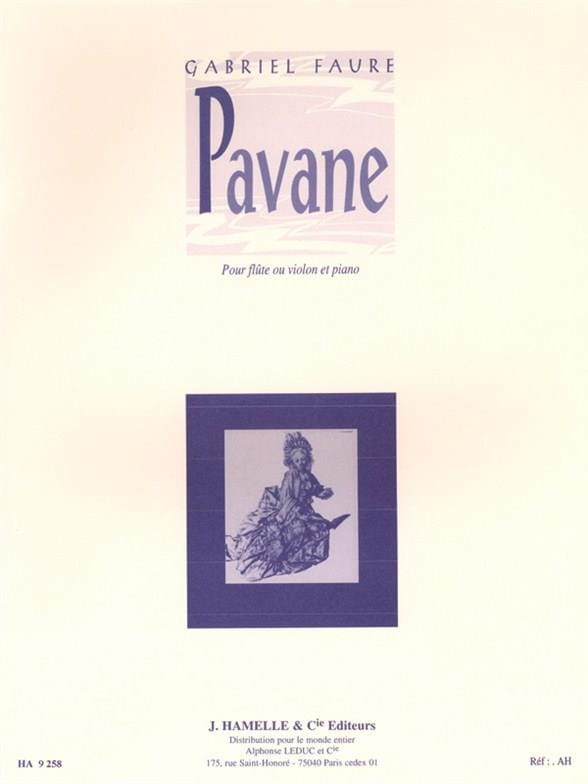 Gabriel Fauré - Pavane Op. 50 - Partition - di-arezzo.co.uk