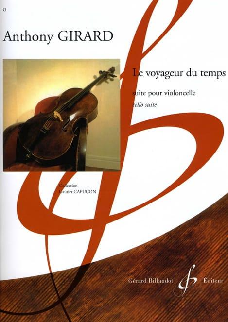 Le Voyageur du temps - Anthony Girard - Partition - laflutedepan.com