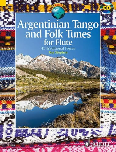 Traditionnels - Argentinian Tango and Folk Tunes for Flute - Partition - di-arezzo.co.uk