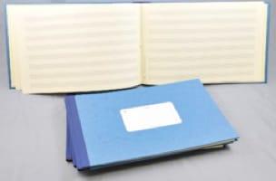 Cahier de musique 8 Portées - de Musique Cahier - laflutedepan.com