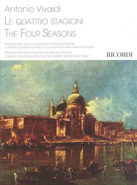 Les 4 quatre saisons - VIVALDI - Partition - Violon - laflutedepan.com