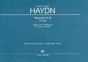 Requiem in B - Michael HAYDN - Partition - laflutedepan.com