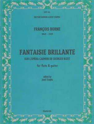 Carmen Fantasy - François Borne - Partition - Duos - laflutedepan.com