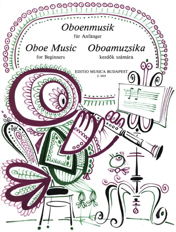 Oboe music for beginners - Partition - Hautbois - laflutedepan.com