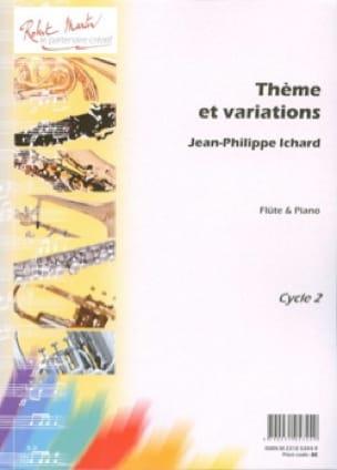 Thème et variations - Jean-Philippe Ichard - laflutedepan.com
