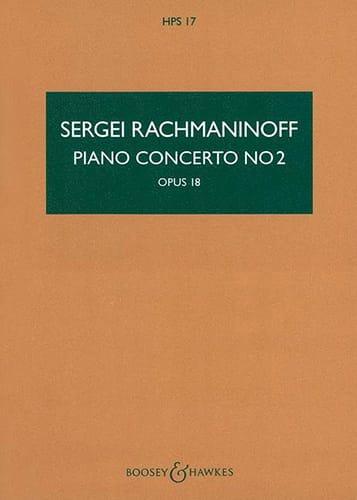 Concerto pour Piano et Orchestre n° 2 Op. 18 conducteur - laflutedepan.com