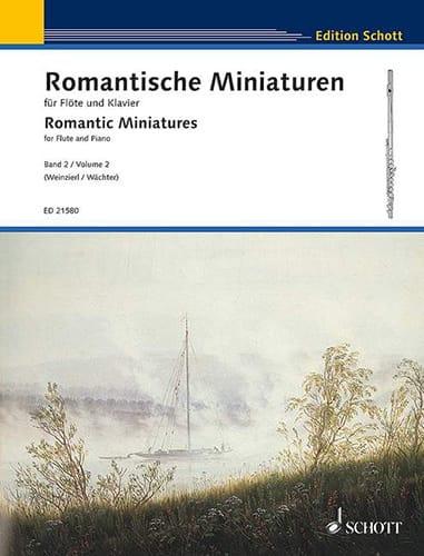 Miniatures Romantiques, Volume 2 - Partition - laflutedepan.com