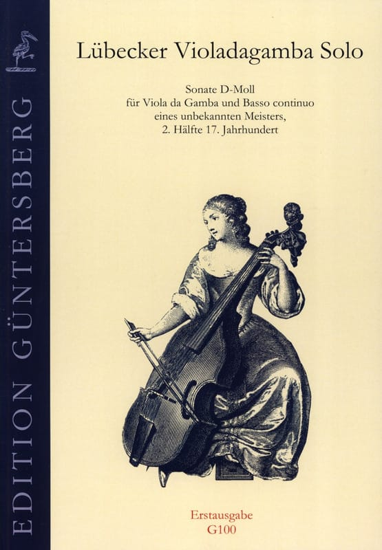 Sonate d-moll für Viola da Gamba - Partition - laflutedepan.com
