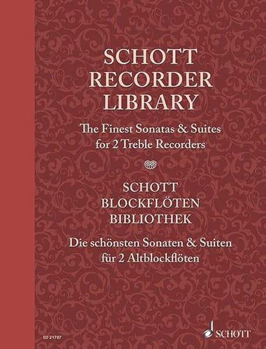The Finest Sonatas and Suites - 2 Flûtes à Bec Alto - laflutedepan.com
