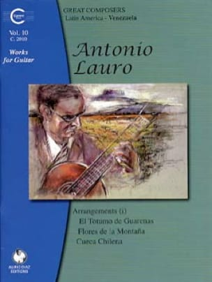 Antonio Lauro - Works for Guitar, Volume 10 - Partition - di-arezzo.co.uk