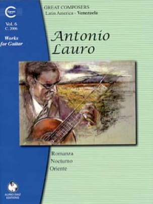Antonio Lauro - Works for Guitar, Volume 6 - Partition - di-arezzo.co.uk