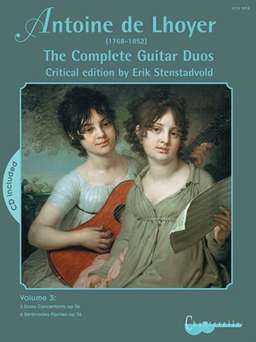 The Complete Guitar Duos, Volume 3 - laflutedepan.com