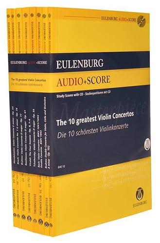 The 10 greatest Violin Concertos - Partition - laflutedepan.com