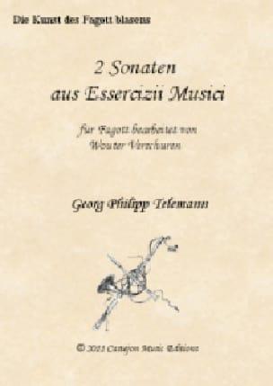 TELEMANN - 2 Sonatas - Basson and BC - Partition - di-arezzo.com