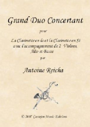 Grand Duo Concertant - 2 Clarinettes et Cordes - laflutedepan.com