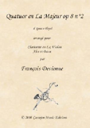 Quatuor en La Majeur, opus 8 n° 2 - Ignaz Pleyel - laflutedepan.com