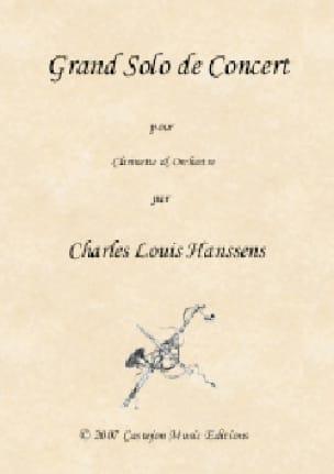 Grand Solo de Concert - Clarinette et piano - laflutedepan.com