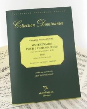 6 Sérénades pour 2 Violons, op. 23 n° 1 - VIOTTI - laflutedepan.com