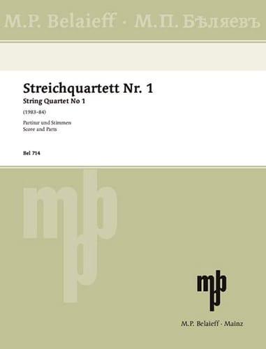 Quatuor à Cordes n° 1 - Parties + Conducteur - laflutedepan.com