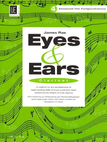 James Rae - Eyes and Ears - Clarinet - Volume 4: Advanced - Partition - di-arezzo.co.uk