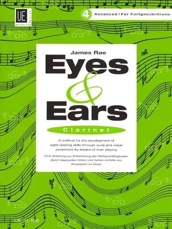 Eyes and Ears - Clarinet - Volume 4 : Advanced - laflutedepan.com