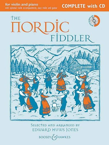 Traditionnels - The Nordic Fiddler - Violin and Complete Piano CD - Partition - di-arezzo.co.uk