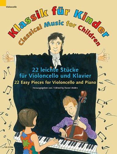 Klassik für Kinder - Violoncelle et Piano - laflutedepan.com