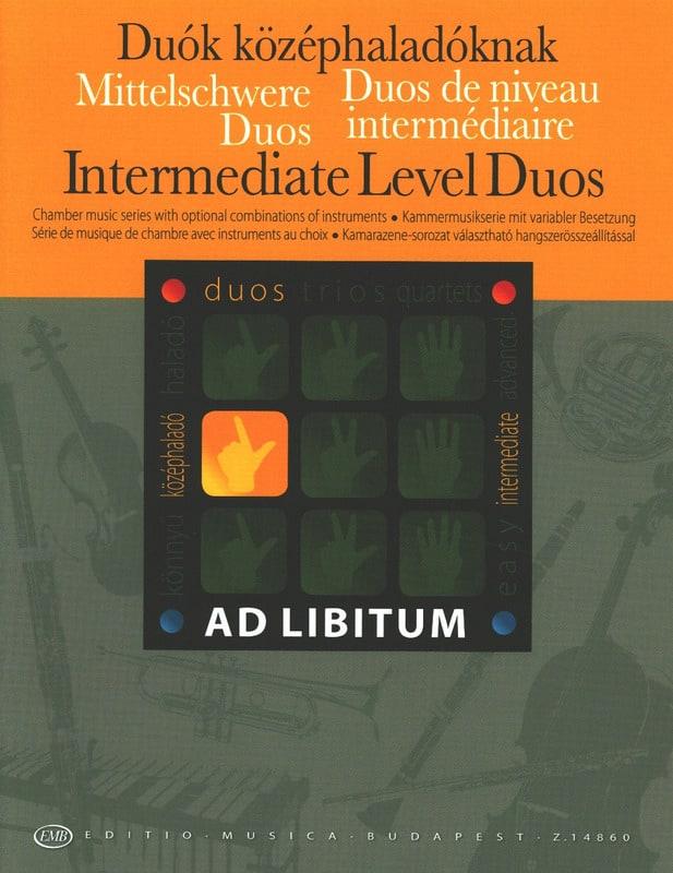 Duos de Niveau Intermediaire - Andras Soos - laflutedepan.com