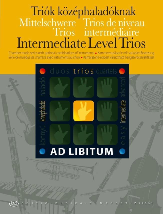 Trios de Niveau Intermediaire - Andras Soos - laflutedepan.com