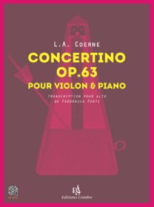Concertino, opus 63 - Alto et piano - laflutedepan.com