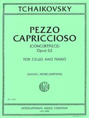 TCHAIKOVSKY - Pezzo Capriccioso, op. 62 - Partition - di-arezzo.co.uk