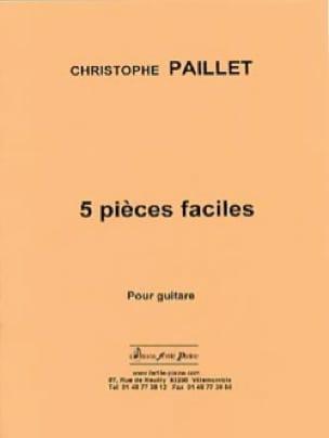 5 pieces faciles - Christophe Paillet - Partition - laflutedepan.com
