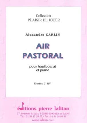 Air Pastoral - Alexandre Carlin - Partition - laflutedepan.com