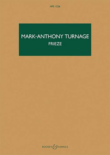 Frieze - Mark-Anthony Turnage - Partition - laflutedepan.com