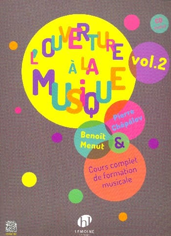 Pierre CHEPELOV et Benoit MENUT - The Opening to Music - Volume 2 - Partition - di-arezzo.co.uk