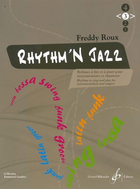 Freddy Roux - Rhythm'n Jazz Volume 3 - Partition - di-arezzo.co.uk