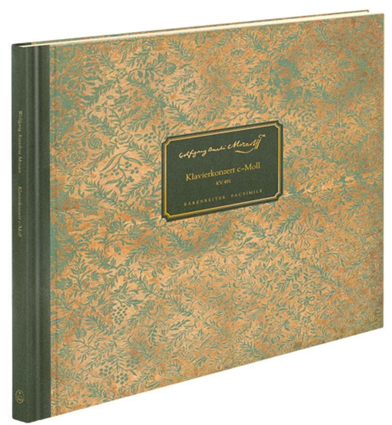 Concerto pour Piano en ut mineur, KV 491 - Facsimile - laflutedepan.com