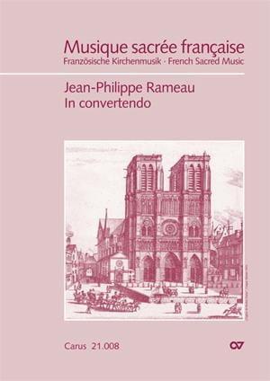 Jean-Philippe Rameau - In convertendo, Psaume 125 - Partition - di-arezzo.fr