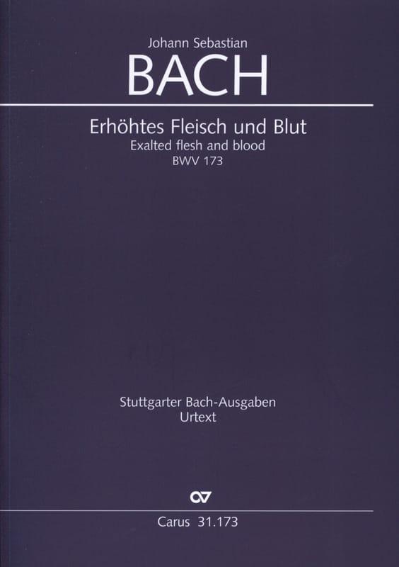 Erhöhtes Fleisch und Blut - BACH - Partition - laflutedepan.com