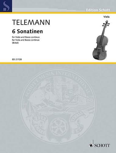 TELEMANN - 6 Sonatines - Partition - di-arezzo.es