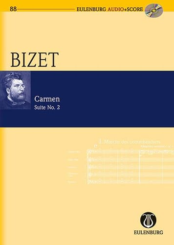 BIZET - Carmen - Suite 2 - Partition - di-arezzo.co.uk