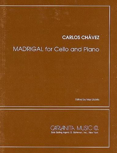 Madrigal - Carlos Chavez - Partition - laflutedepan.com