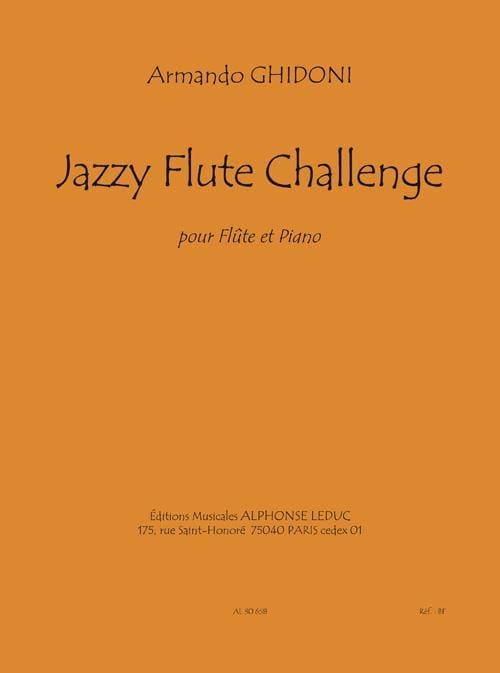 Armando Ghidoni - Desafío Jazzy Flute - Partition - di-arezzo.es