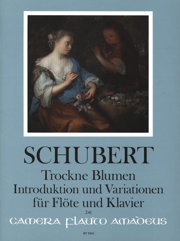 Trockne Blumen, Introduction et Variations - laflutedepan.com