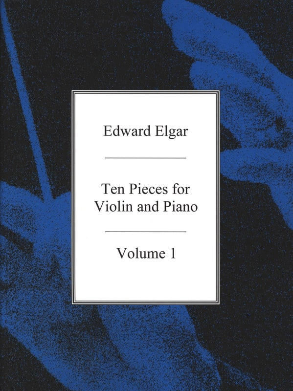 ELGAR - 10 pieces for Violin and Piano - Vol. 1 - Partition - di-arezzo.co.uk