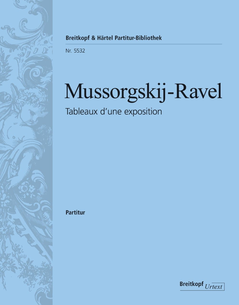 Moussorgski Modeste / Ravel Maurice - Pictures of an exhibition - Partition - di-arezzo.co.uk