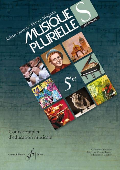 Musiques Plurielles 5ème - Enseignant - laflutedepan.com