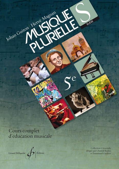 Guiton Johan / Magnan Hervé - 5th plural music - Student - Partition - di-arezzo.com