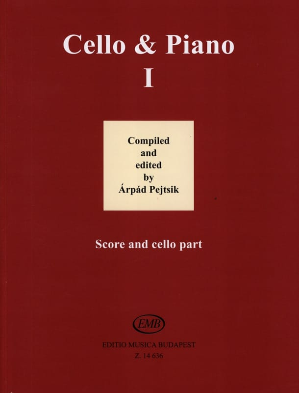 Arpad Pejtsik - Cello - Piano Vol. 1 - Partition - di-arezzo.com
